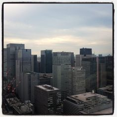 Room with a view - Mandarin Oriental, Tokyo #Japan