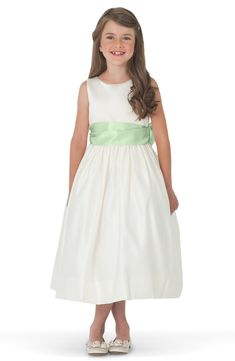 New Us Angels Sleeveless Satin Dress with Contrast Sash (Toddler Girls, Little Girls Big Girls) online. Find the  great  girls clothing from top store. Sku ysoj60264mzdr38924