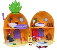 Spongebob House, New Spongebob, Lol Dolls, Barbie Dolls, Toys For Girls, Kids Toys, Spongebob Squarepants Toys, Toy House, Polly Pocket