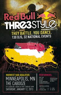 Red Bull Thre3style comes to Minneapolis | Burlesque of North America