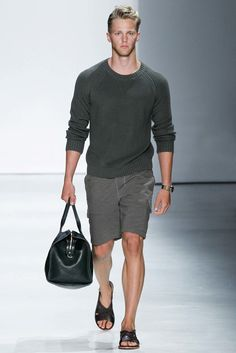 Todd Snyder Spring 2016 Menswear Fashion Show. Nice muted tones in Spring materials.