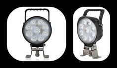 The MWL-36 Surface Mount - Adjustable 1,700 Lumen 9 LED Work Lights have a thin compact lowprofile and easy grip handle.