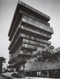 vostok1: Edificio Palmas, Mexico by Juan Sordo Madaleno (1975)