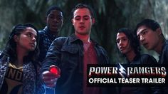 Lionsgate libera el primer teaser trailer de los Power Rangers #CineyTV #Película #PowerRangers