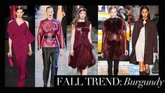 Burgundy Is 'The New Black' For Fall, According To The Likes Of Nina Garcia
