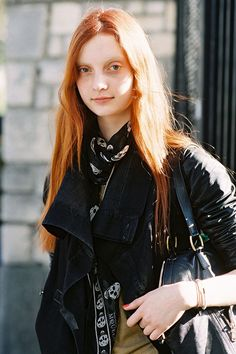 Vanessa Jackman: Paris Fashion Week SS 2013....Codie