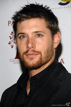 Eliado. character inspiration. --Jensen Ackles with red beard