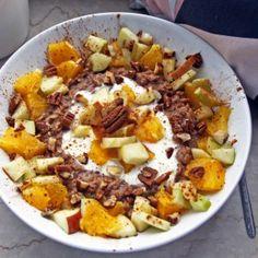 Winterliche Porridgevariationen mit Obst | Satt geküsst