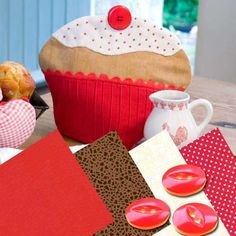 Cupcake Tea Cosy Downloadable Project - Digital Patterns and Projects