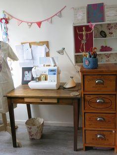 Mon atelier de bricolage - Craft room
