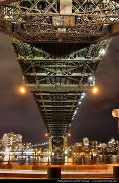 Harbour Bridge @ Night, #Sydney, #Australia http://www.travelmagma.com/australia/things-to-do-in-sydney/