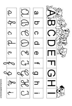 LETTERE DELL''ALFABETO - lfabetiere della Carica dei 101 - Cartelloni con i 4 caratteri delle lettere dell' alfabeto - Lettere dell' alfabeto associate a personaggi noti del mondo infantile di cartoons - Bambini - Pregrafismo - Imparare a scrivere - coordinazione oculo manuale - Disgrafia - Disgrafismo - pagina 1 - Disegni - Numeri - Aritmetica - Alberghi per Bambini e Famiglie