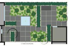 Corridor Tuin - De Tuinen van Appeltern Landscape Architecture, Landscape Design, Garden Design, Taxus Baccata, Stipa, Small Buildings, Happy House, Garden Planning, Floor Plans