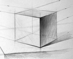 Рисунок куба. Так выглядит завершённое задание
