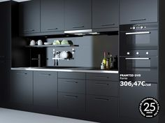 Best Ikea Anthracite Kitchen Cabinets Black Hardware 640 x 480