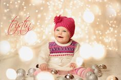 tristin photography reedsburg wisconsin baby christmas lights photography