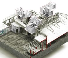 Taneli Mansikkamaki - Architectural model
