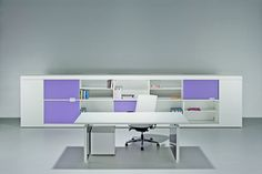 Whats your colour? Quirky office desks from Italy