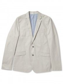 Just arrived at Indigo....this Slim Fit 2 Button Cotton Blazer from Ben Sherman!!