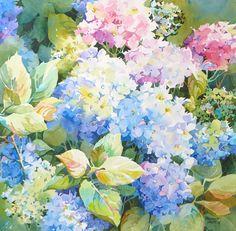 "Bridget Austin will be teaching ""Exploring Florals in Watercolor"" September Watercolor Artists, Watercolor Landscape, Watercolor And Ink, Watercolour Painting, Watercolors, Watercolor Sunflower, Watercolor Flowers, Flower Canvas, Flower Art"