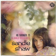 """Sandie Shaw - """"La danza della notte"""", italian version of """"Puppet on a String"""", the winning song of the Eurovision Song Contest 1967"""
