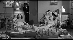 Women enjoy a Turkish bath just before the Stooges burst in. | Blunder Boys (1955), a Three Stooges short produced and directed by Jules White; distributed by Columbia Pictures