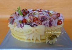 Kvalitní dorty a zakusky pro radost - Fotoalbum - Slané dorty - Sýrový dort