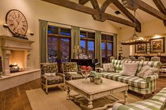 dashing french country living rooms