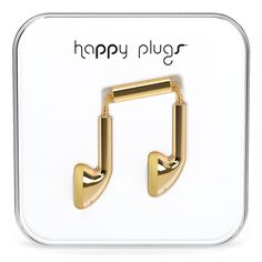 Happy Plugs – Earbud Gold