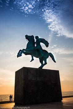 Alexander The Great in Thessaloniki, Greece.