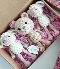 Mesmerizing Crochet an Amigurumi Rabbit Ideas. Lovely Crochet an Amigurumi Rabbit Ideas. Crochet Teddy, Love Crochet, Crochet Gifts, Crochet Dolls, Easy Crochet, Knit Crochet, Crochet Bear Patterns, Amigurumi Patterns, Crochet Ideas