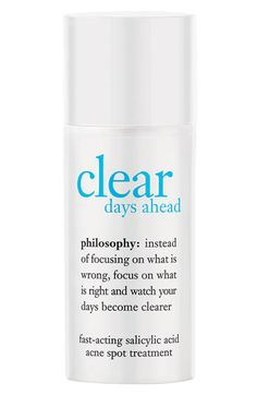 philosophy 'clear days ahead' fast-acting acne spot treatment | Nordstrom