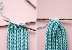 Free knitting instructions: headband with twist - . Free knitting instructions: headband with twist - Knitting Blogs, Knitting For Beginners, Knitting Socks, Free Knitting, Free Crochet, Knitted Hats, Knitting Patterns, Knit Crochet, Crochet Patterns
