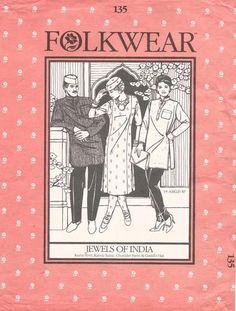 Indian Wardrobe: Kurta, Kamiz Tunic, Chuidar Pants & Hat