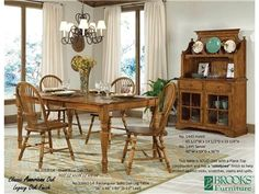 For Brooks Furniture Rectangular Solid Oak Leg Table 33660 14 And Other