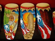 Percussion from el Caribe. Puerto Rican Music, Puerto Rican Flag, Puerto Rican Cuisine, Puerto Rican Recipes, Puerto Rico Pictures, Puerto Rican Culture, Instruments, My Roots, Puerto Ricans