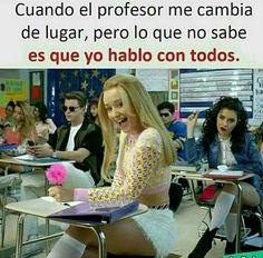 No me pasa😭 Funny Spanish Memes, Spanish Humor, Book Memes, Dankest Memes, Funny Images, Funny Pictures, Hilarious, Celebrities, Iggy Azalea