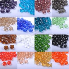 Top-Quality-Czech-Crystal-FACETED-RONDELLE-Spacer-BEADS-Choose-6MM-8MM-10MM
