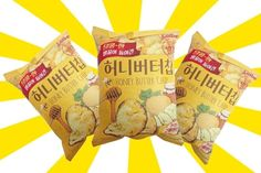"""Honey butter chips. They're a popular Korean snack and they're really interesting and tasty!"" —schmooksiepooGet a three-pack from Amazon for $7.29."