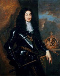 Charles II, roi d'Angleterre, par Peter Lely