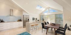 a peek inside Trafalgar Lane home Annandale Architecture  great skylights