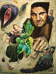 BELINDA EATON  Man With Figs (2005)