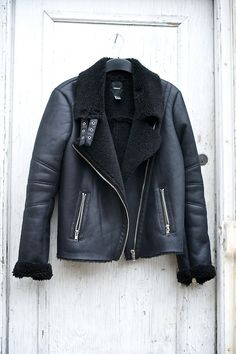 I would like to find this used or not made from animals. Leather jacket