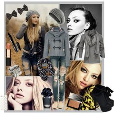 Dress a celebrity- Amanda Seyfried by amylp on Polyvore featuring Nelly…