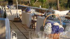 Quién ha dicho que todas las bodas están dispuestas con mesas redondas?
