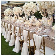 greek goddesses table scape | #greek #wedding #inspiration