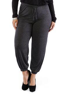 Plus-Size Lazy Sunday Lounge Pants