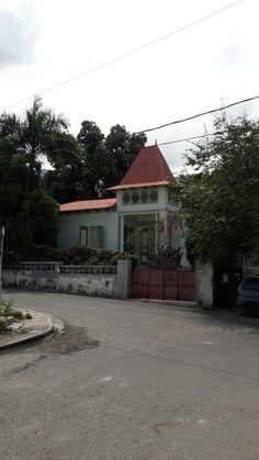 Gingerbread house in Bois Verna, Port-au-Prince, Haiti.