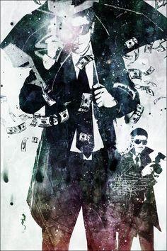 """""""Trash 2"""" by Alex Cherry via Eyes on Walls. $48"""