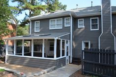 Sherwin Williams Gauntlet Gray Siding